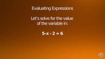 Solving Expressions by Adding and Subtracting 2 Powerpoint