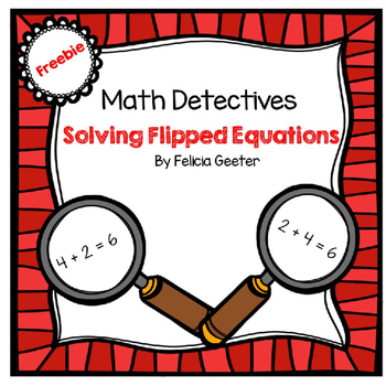 Solving Flipped Equations (Commutative Property of Additio