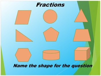 Solving Fractions PowerPoint Review with Geometry