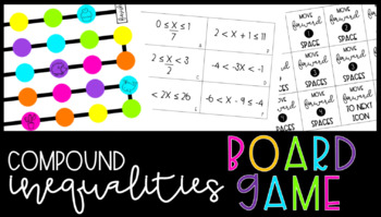 Solving/Graphing Compound Inequalities Board Game