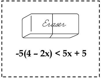 Solving Inequalities Algebra Scavenger Hunt {Solving Inequalities Activity}