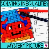 Solving Inequalities Activity Mystery Puzzle
