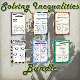 Solving Inequalities Bundle- (Guided Notes and Practice)