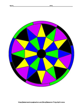 Solving Inequalities Color by Number