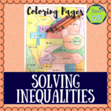 Solving Inequalities Coloring Pages