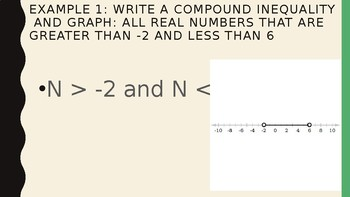 Solving Inequalities - Compound Inequalities