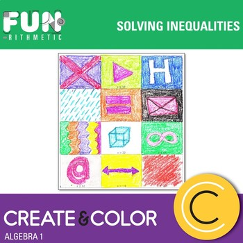 Solving Inequalities Create and Color