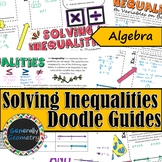 Solving Inequalities Doodle Notes; Algebra 1