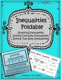 Solving Inequalities Foldable for Math Interactive Notebook