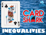 Solving Inequalities Fun Review Game - Card Shark