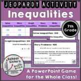 Solving Inequalities Jeopardy Game