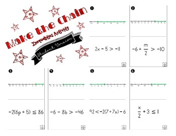 Solving Inequalities - Make the Chain