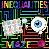 Solving Inequalities Maze Activity