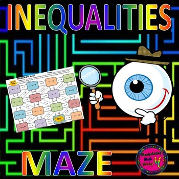 Solving Inequalities Maze Activity