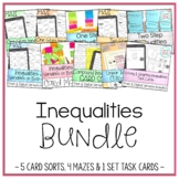 Solving & Graphing Inequalities Bundle