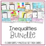 Solving & Graphing Inequalities Bundle