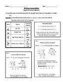 Solving Inequalities Negative Positive Coefficients