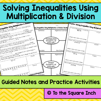 Solving Inequalities Notes