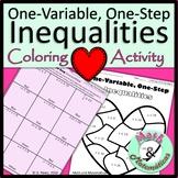 Valentine's Day Solving Inequalities One Step Inequalities