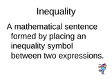 Solving Inequalities PowerPoint