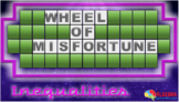 Solving Inequalities Review Game - Wheel of Misfortune