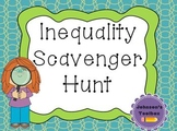 Solving Inequalities Scavenger Hunt