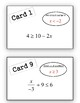 Solving Inequalities Scavenger Hunt Activity (With Multi-Step Problems)