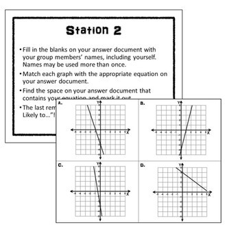 Linear Equations Stations