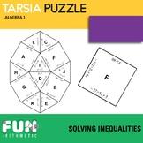 Solving Inequalities Tarsia Puzzle