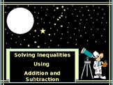 Algebra Power-Point:  Solving Inequalities using Addition