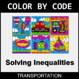 Solving Inequalities with Addition & Subtraction - Color by Code