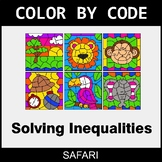 Solving Inequalities with Addition & Subtraction - Color b