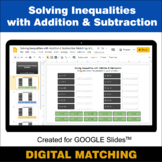 Solving Inequalities with Addition & Subtraction - Google