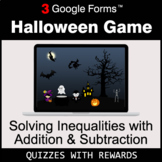 Solving Inequalities with Addition & Subtraction | Hallowe