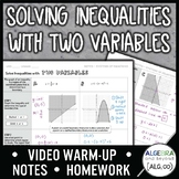 Solving Inequalities with Two Variables Lesson