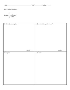 Solving Integrals using u substitution