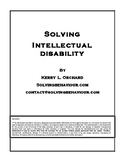 Solving Intellectual Disability