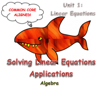 Solving Linear Equations Applications