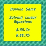 8.EE.7a & 8.EE.7b, TN SPI 8.3.2, Solving Linear Equations-