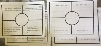 Solving Linear Equations and Word Problems