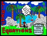Power-Point:  Solving Linear Equations using Addition and