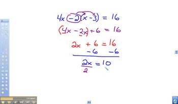 Solving Linear Equations with Variables on Both Sides