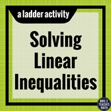 Linear Inequalities Ladder Activity