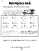 Solving Linear Systems By Substitution Bad Joke Practice w/ Worked-Out Solutions