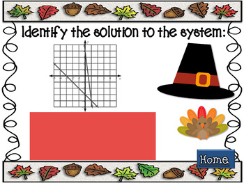 Solving Linear Systems Give and Take PPS