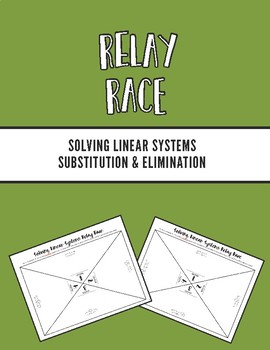 Solving Linear Systems Relay Race