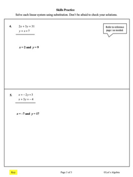Systems of Equations (Solve by Substitution): Tacos and Combos