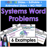 Solving Linear Systems Word Problems Google Slides