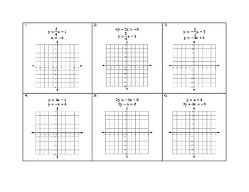 Solving Linear Systems by Graphing (algebra)