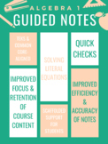 Solving Literal Equations Guided Notes